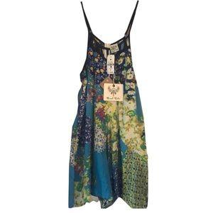 NWT Angel Biba floral romper shorts